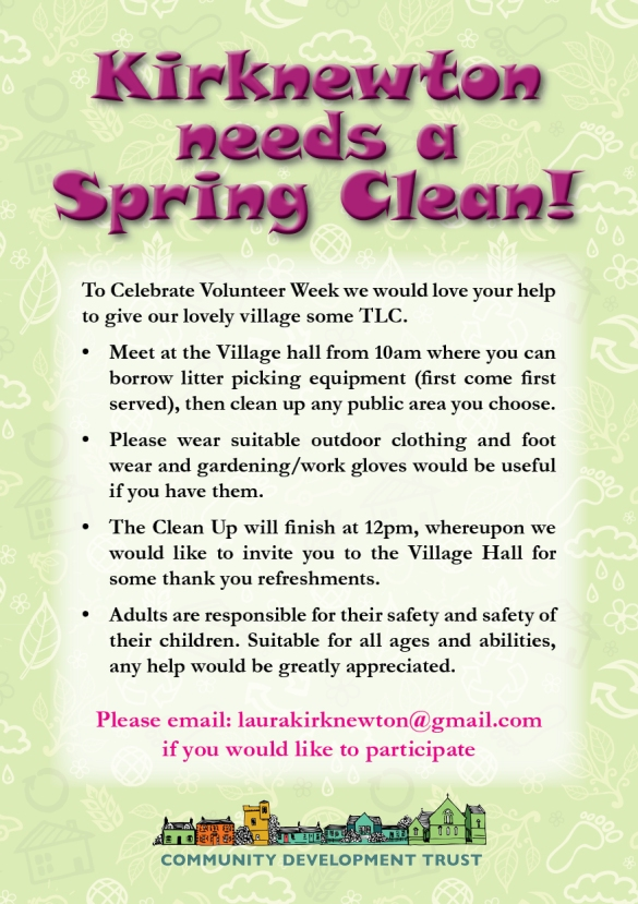 KCDT family community clean up flyer A5 double sided2